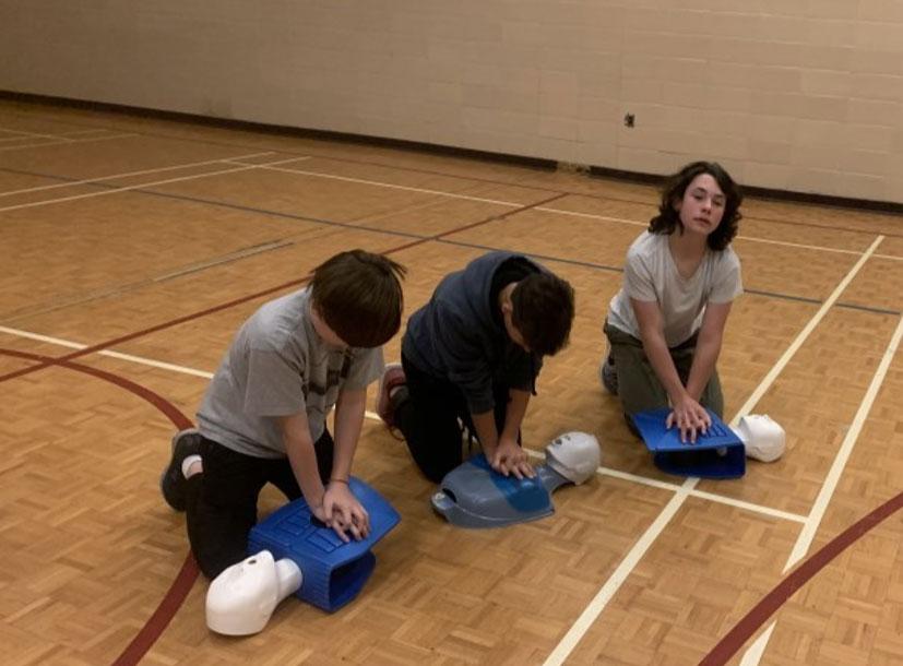 Emergency first aid program