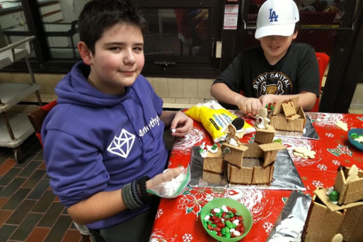 Building ginger bread house