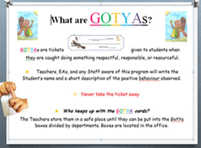 Figure 9 : Un exemple de GOTYA