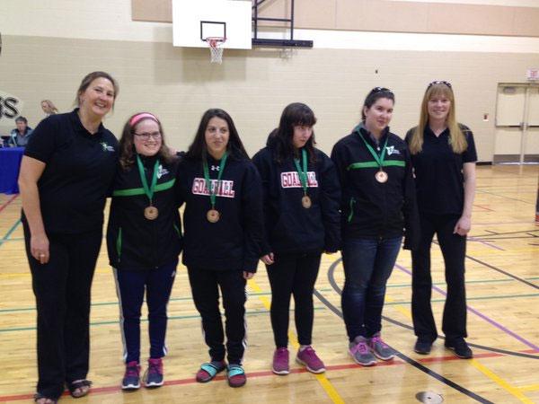Goalball women medalists
