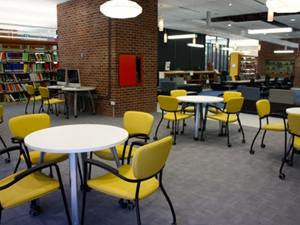 Library's round tables